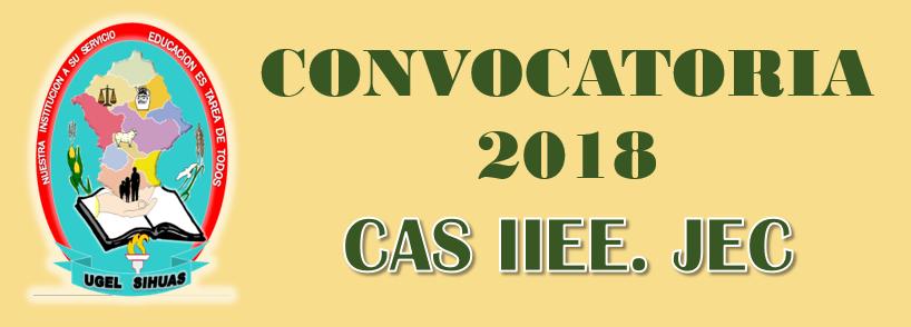 BASES CAS JEC N° 002 – I CONVOCATORIA